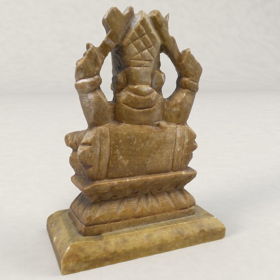 God Ganesha figuur royalty-free 3d model - Preview no. 5