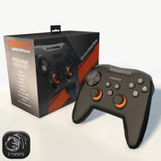 Steelseries gamepad stratus xl modelo 3d