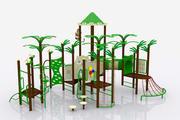 葉の遊び場 3d model