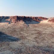 Terrain Wüste 3d model