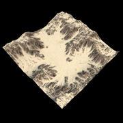 Terreno deserto 3d model