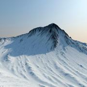Montañas del terreno modelo 3d