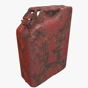 Jerrycan Red modelo 3d