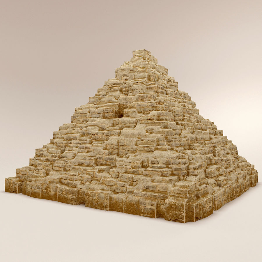 pyramider royalty-free 3d model - Preview no. 4