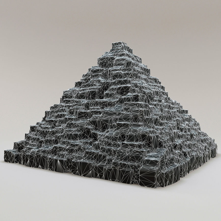 pyramider royalty-free 3d model - Preview no. 13