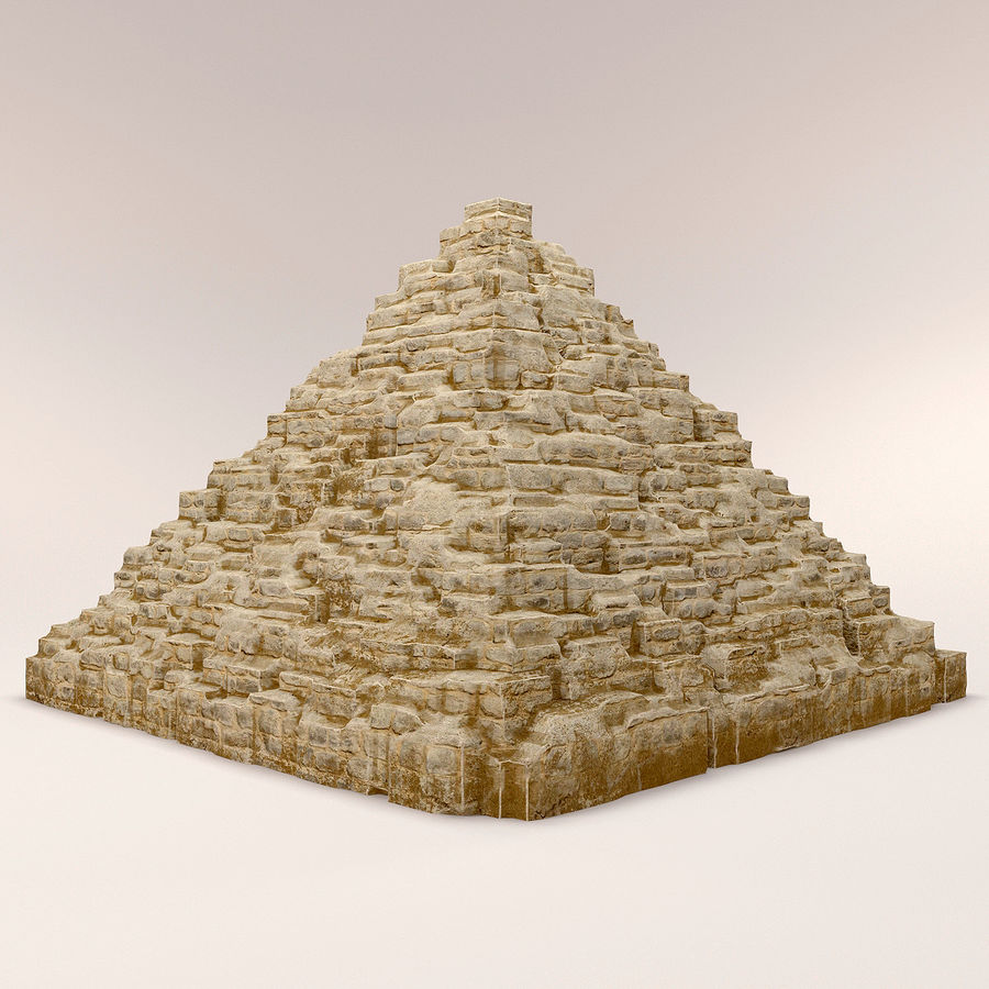 pyramider royalty-free 3d model - Preview no. 2