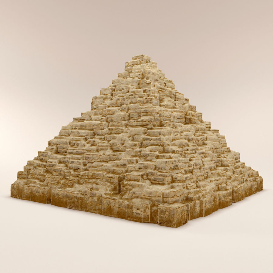 pyramider royalty-free 3d model - Preview no. 3