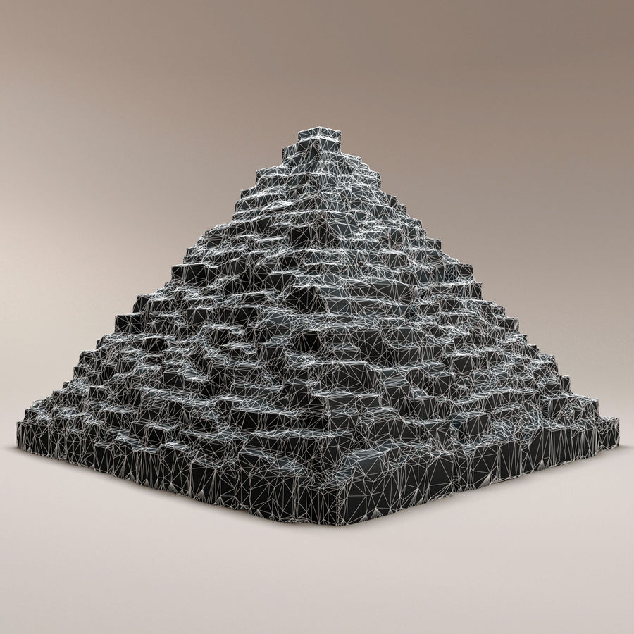 pyramider royalty-free 3d model - Preview no. 9
