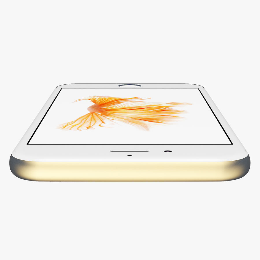 iPhone 6S Gold Mental Ray royalty-free 3d model - Preview no. 7