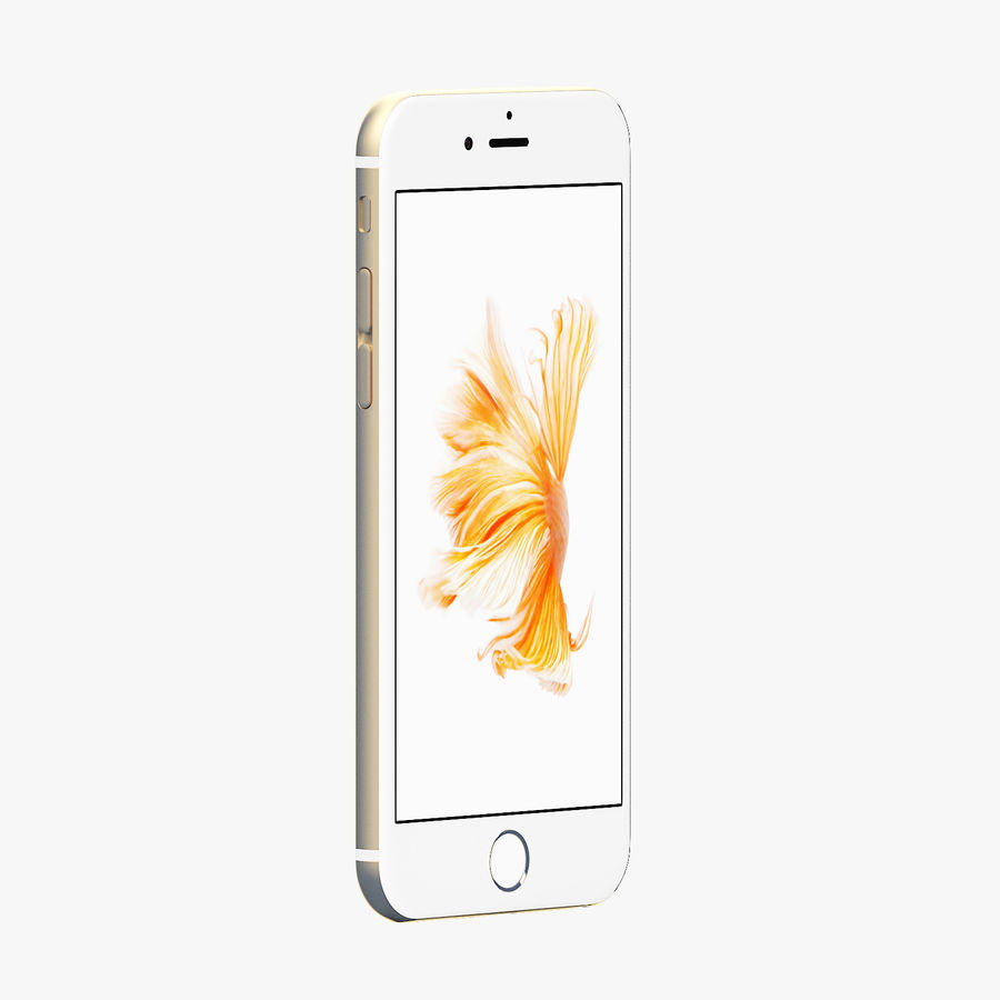 iPhone 6S Gold Mental Ray royalty-free 3d model - Preview no. 2
