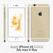 iPhone 6S Gold V-Ray 3d model