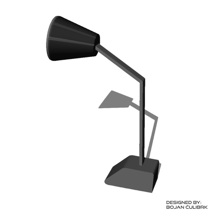 Lampe royalty-free 3d model - Preview no. 3