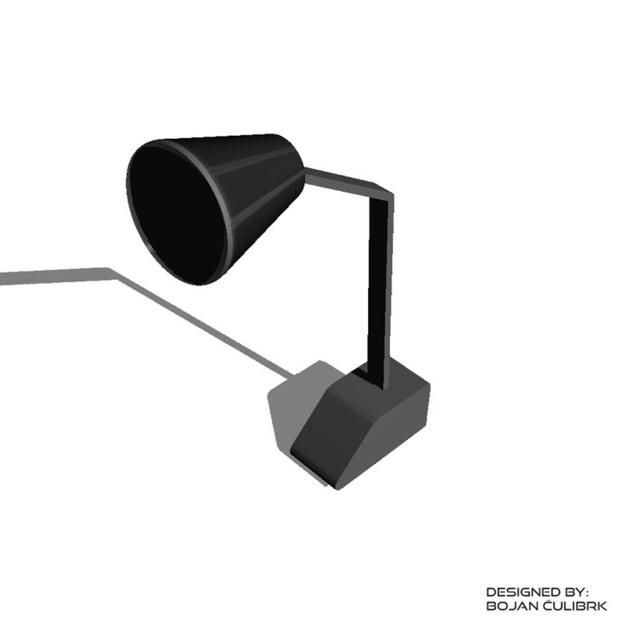 Lampe royalty-free 3d model - Preview no. 2