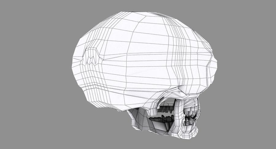HellWarrior Skull royalty-free 3d model - Preview no. 14