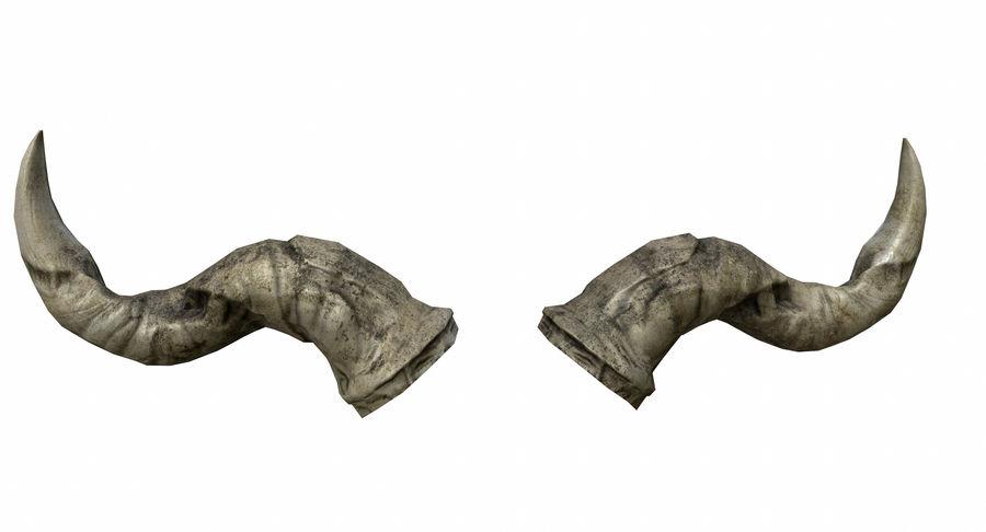 HellWarrior Skull royalty-free 3d model - Preview no. 17