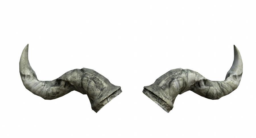 HellWarrior Skull royalty-free 3d model - Preview no. 21