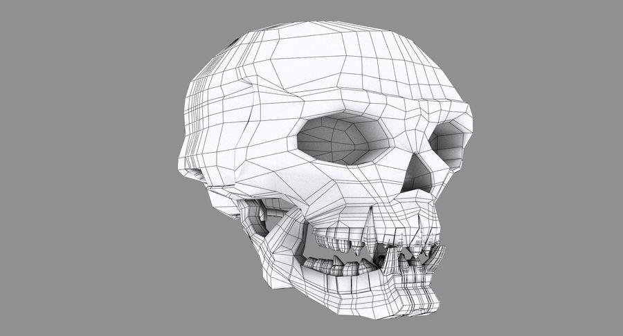 HellWarrior Skull royalty-free 3d model - Preview no. 11