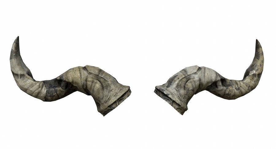 HellWarrior Skull royalty-free 3d model - Preview no. 20