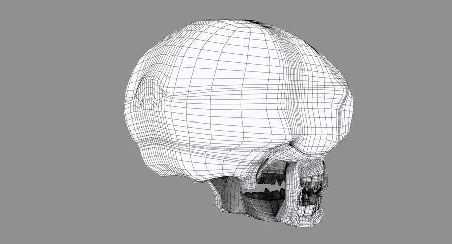 HellWarrior Skull royalty-free 3d model - Preview no. 13