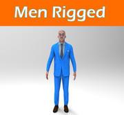 Rigged Man Handsome Guy 3d model