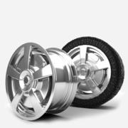 Aleaciones de ruedas modelo 3d