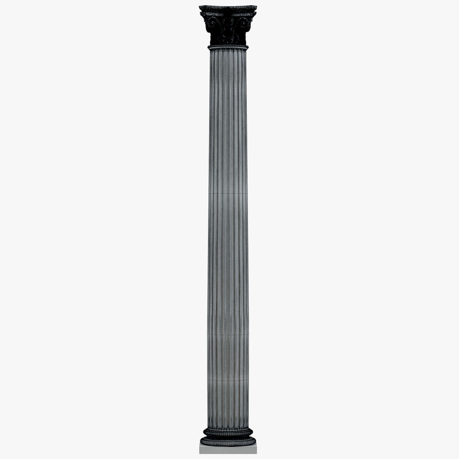 Column 1 royalty-free 3d model - Preview no. 6
