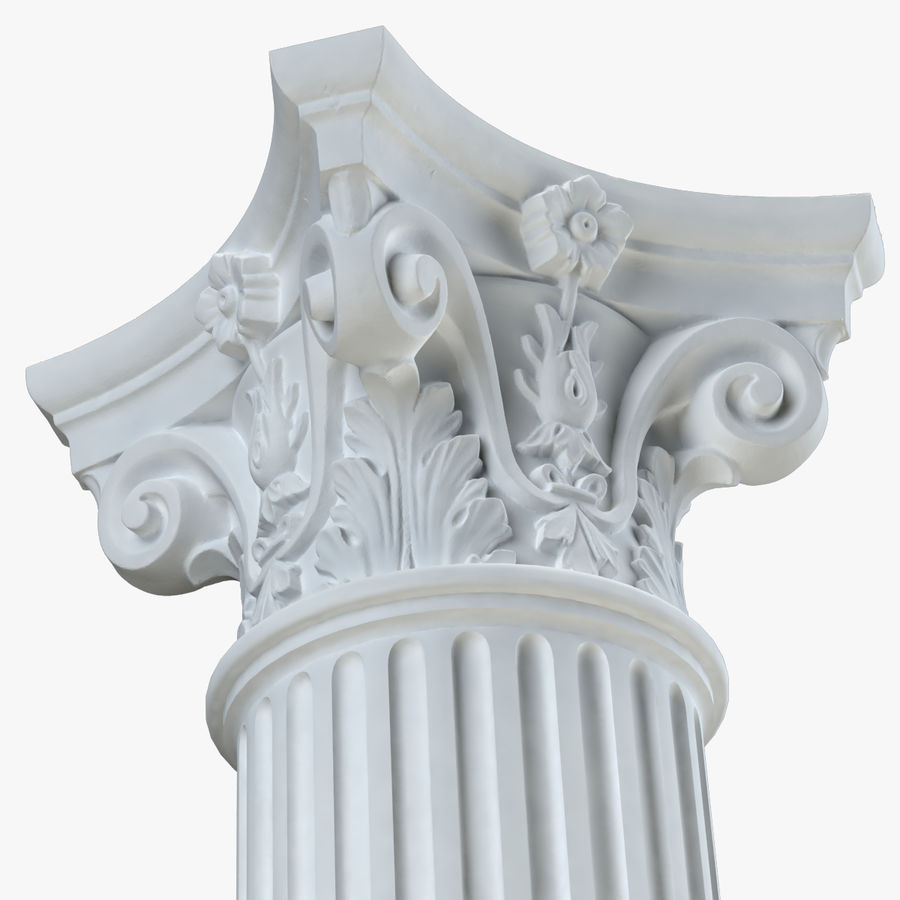 Column 1 royalty-free 3d model - Preview no. 5