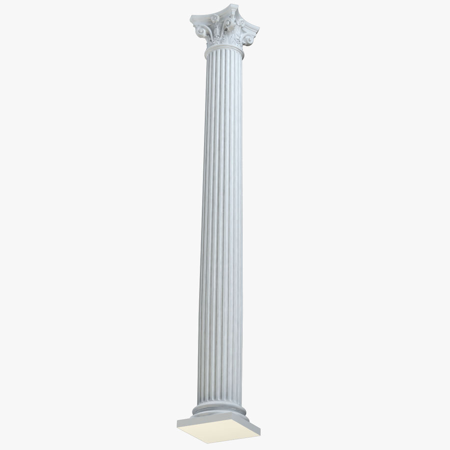 Column 1 royalty-free 3d model - Preview no. 2