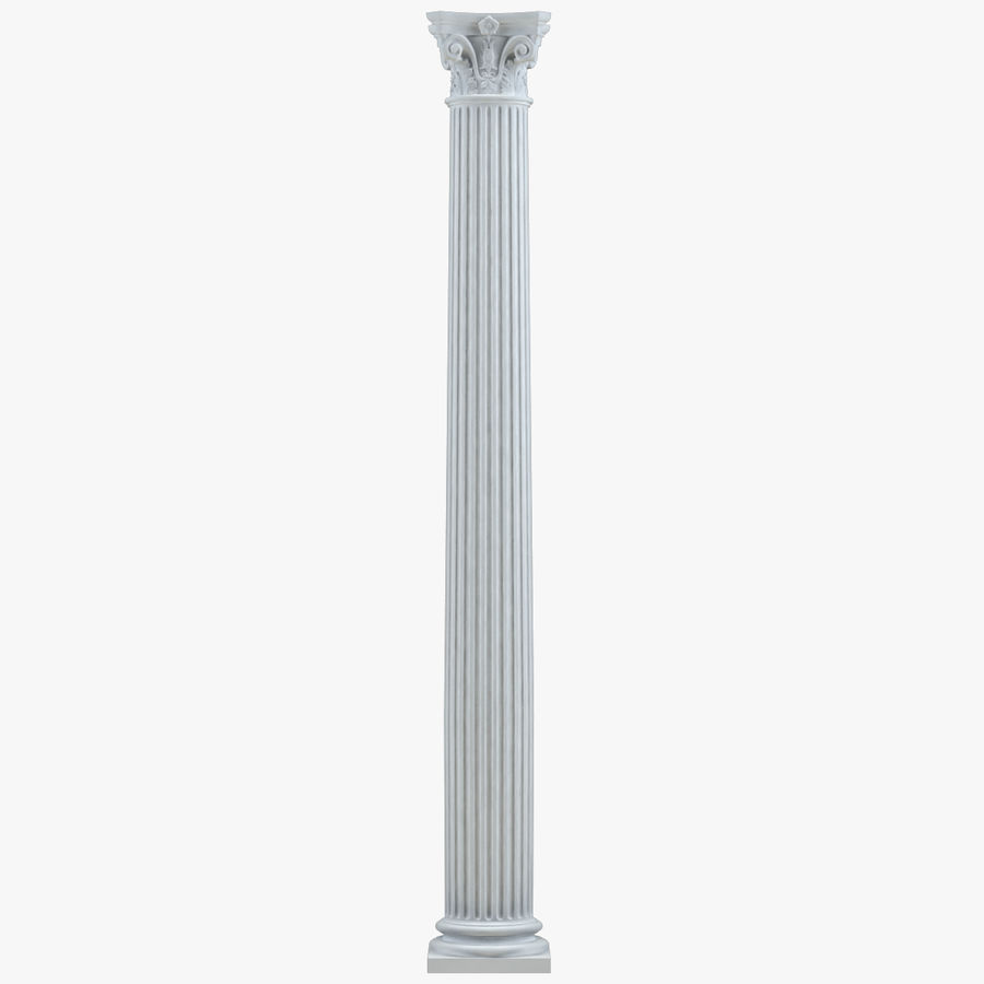 Column 1 royalty-free 3d model - Preview no. 1