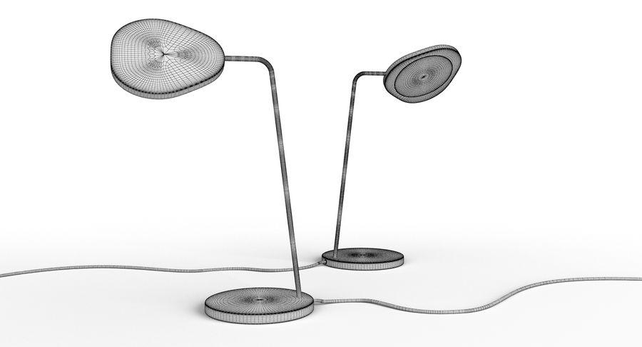 Muuto Leaf Table e luminárias de pé royalty-free 3d model - Preview no. 16