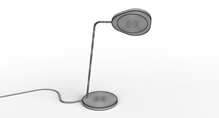 Muuto Leaf Table e luminárias de pé royalty-free 3d model - Preview no. 20