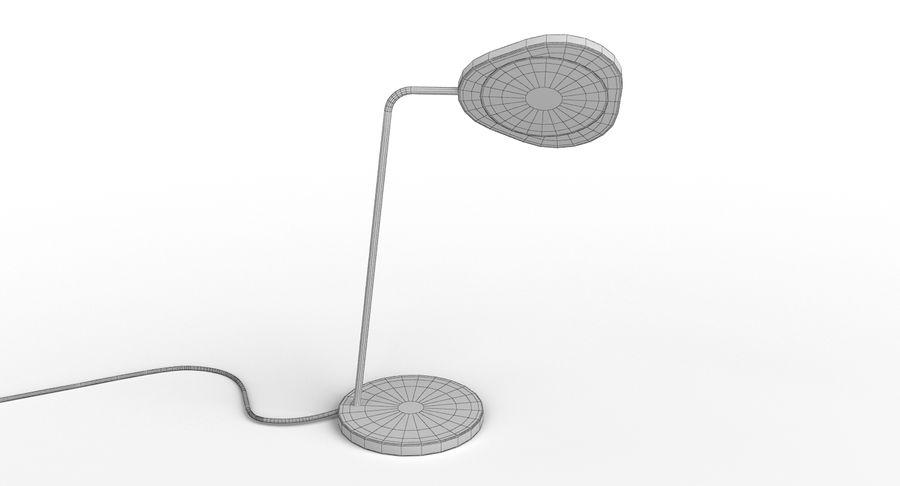 Muuto Leaf Table e luminárias de pé royalty-free 3d model - Preview no. 19