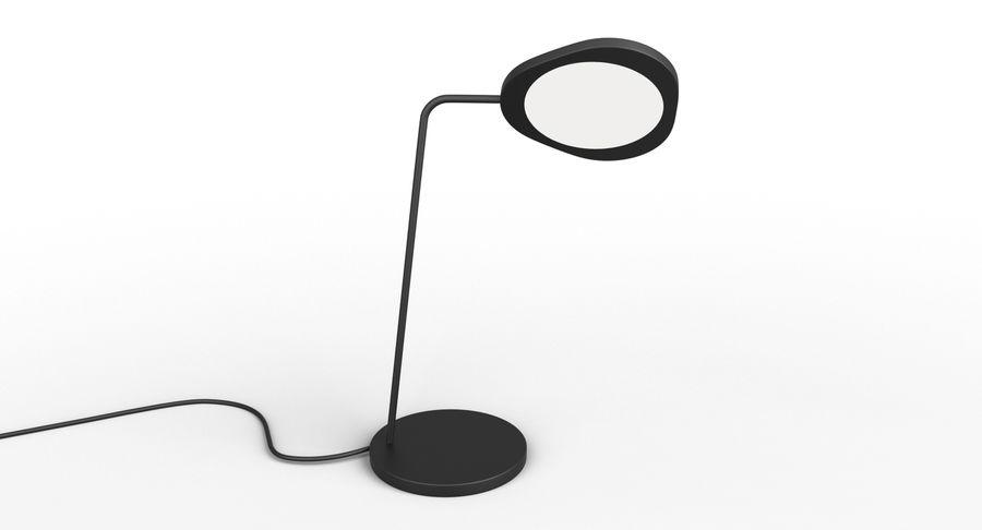 Muuto Leaf Table e luminárias de pé royalty-free 3d model - Preview no. 7