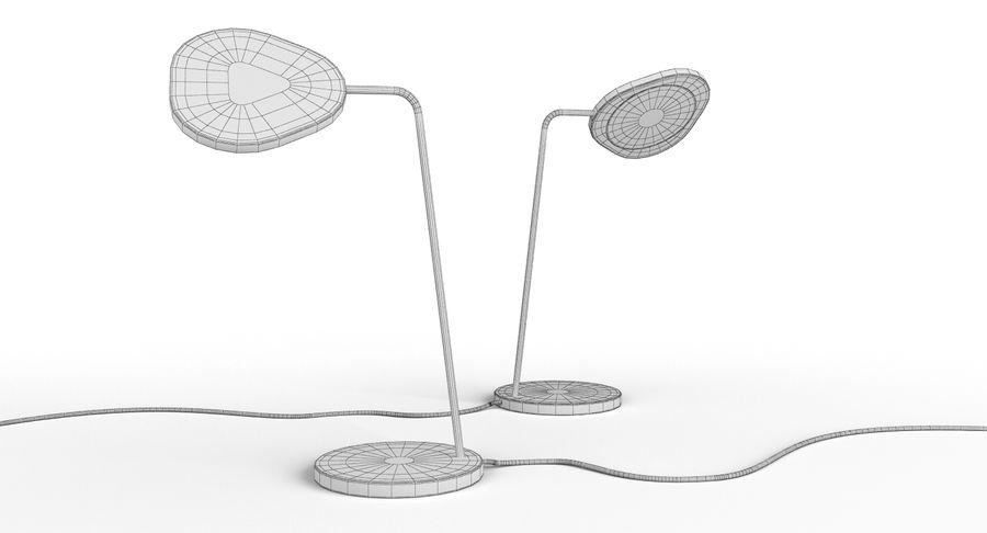Muuto Leaf Table e luminárias de pé royalty-free 3d model - Preview no. 15