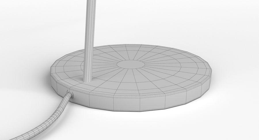 Muuto Leaf Table e luminárias de pé royalty-free 3d model - Preview no. 21
