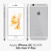 V-Ray argento per iPhone 6S 3d model