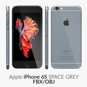 iPhone 6S Raumgrau FBX OBJ 3d model