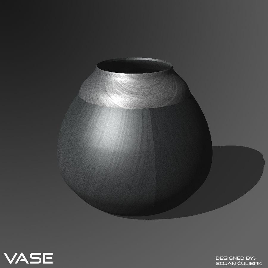 Zestaw wazonów royalty-free 3d model - Preview no. 2