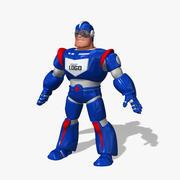 卡通太空英雄 3d model