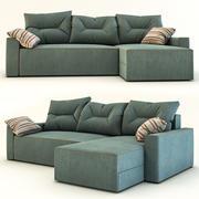 Sofá de la esquina modelo 3d