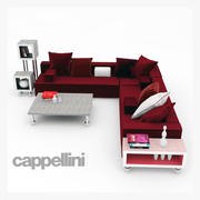 Cappellini Panda-collectie 3d model