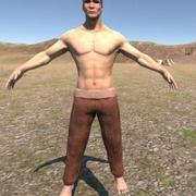 indian archer warrior 3d model