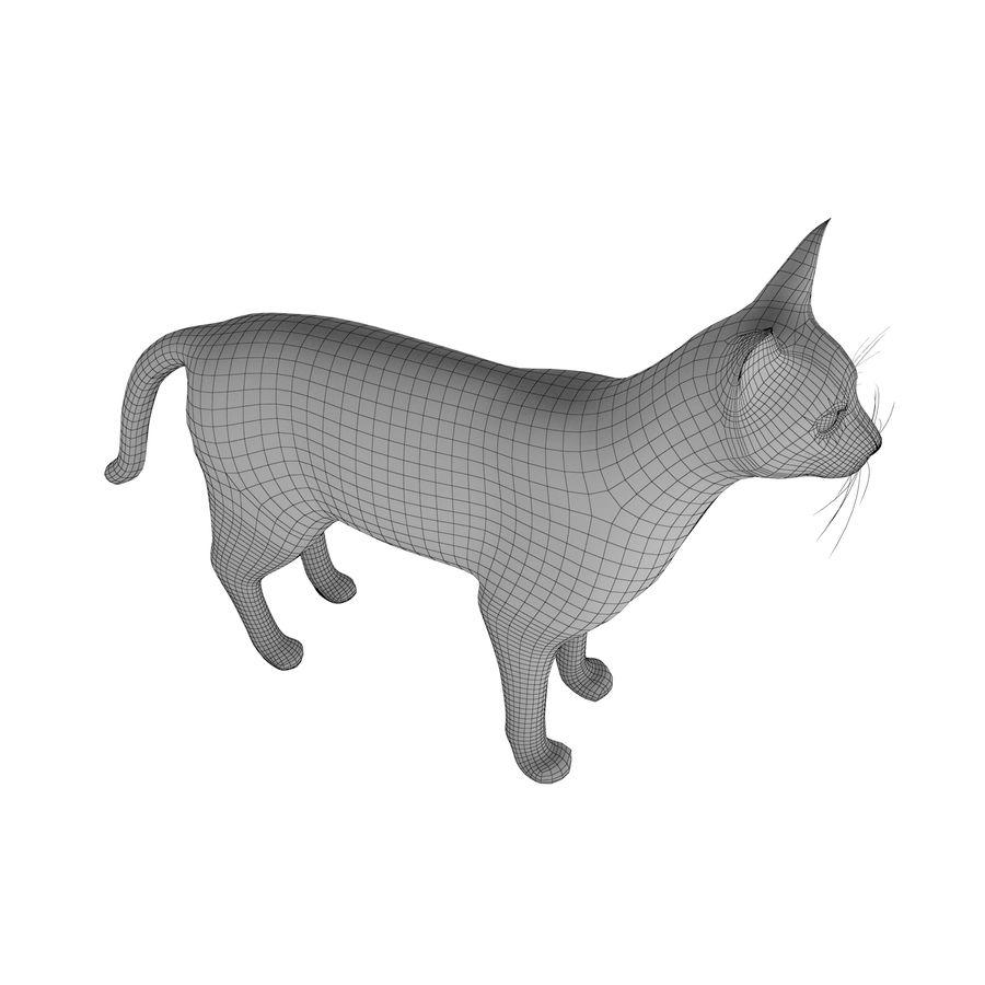 猫 royalty-free 3d model - Preview no. 8