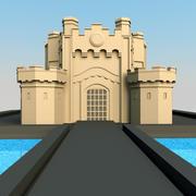 Middeleeuws kasteel 3d model