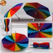 雨伞 3d model