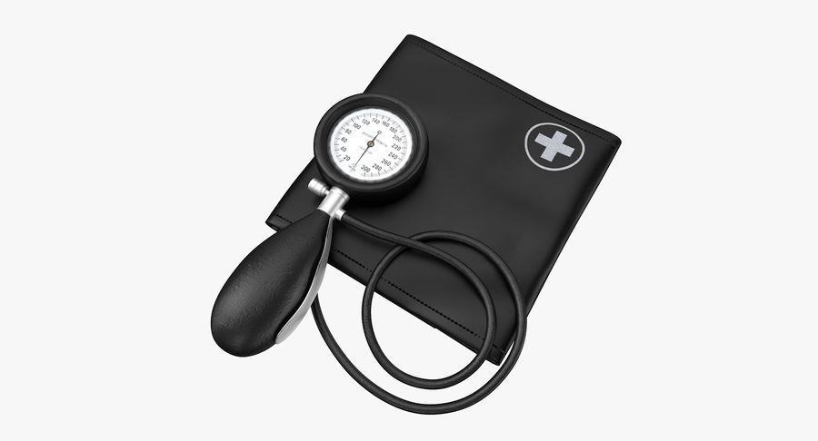 Tıbbi Tansiyometre royalty-free 3d model - Preview no. 2