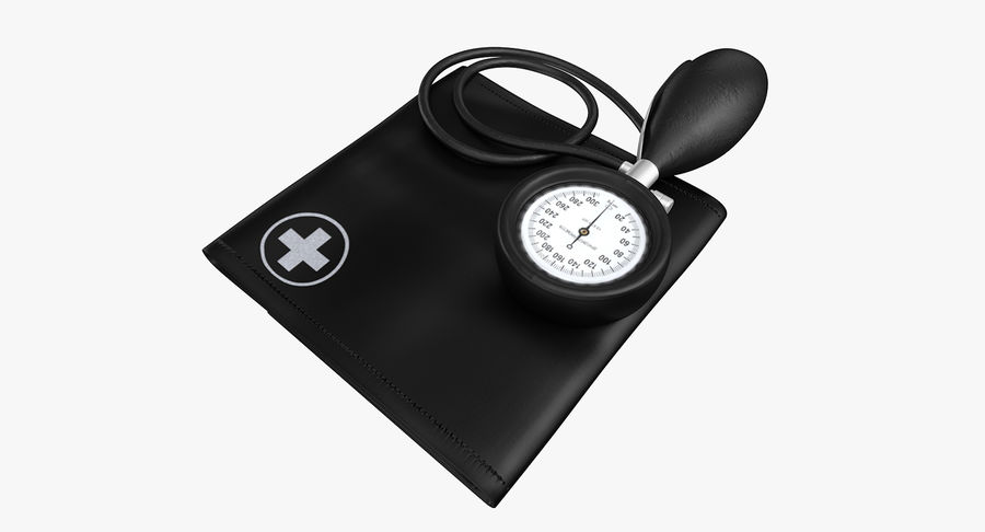 Tıbbi Tansiyometre royalty-free 3d model - Preview no. 6