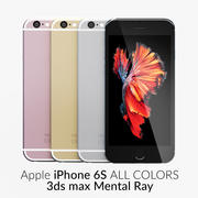 iPhone 6S All Colors Mental Ray 3d model