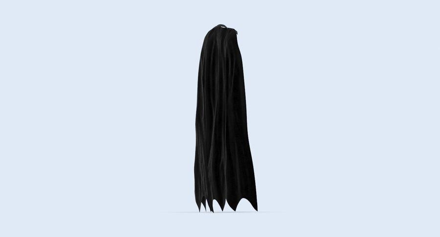 Batman Cape Standing royalty-free 3d model - Preview no. 5