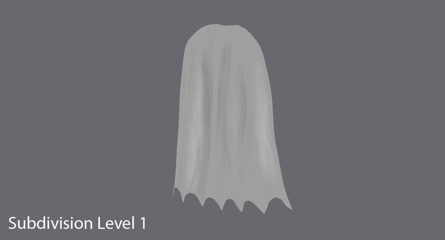 Batman Cape Standing royalty-free 3d model - Preview no. 12